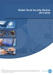 Global cloud security market 2013 2018