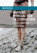 Global corruption report_climate_change_french from Transparency International