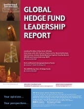 Global Hedge Fund Leadership Report
