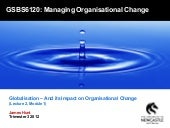 Globalization and its Impact on Org...