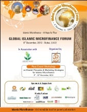 Global islamic micro finance forum,...