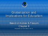 Globalization and implications for ...