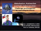 Globalization, Nationalism and Publ...