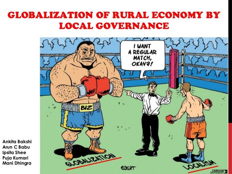 Will political globalization follow economic globalization?