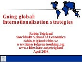 Going Global_Internationalization S...