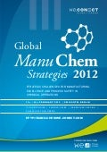 Global Manu Chem Strategies 2012 Agenda