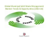 Global municipal solid waste  ppt