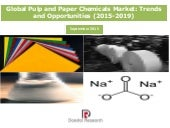Global Pulp and Paper Chemicals Market: Trends and Opportunities (2015-2019) - New Report by Daedal Research