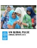 Global Pulse Annual Report 2013