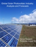 Global solar photovoltaic industry analysis and forecasts
