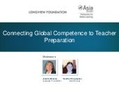 Connecting Global Competence to Teacher Preparation