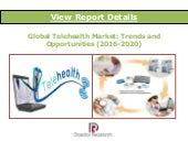 Global Telehealth Market: Trends and Opportunities (2016-2020) - New Report by Daedal Research