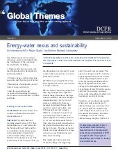 Global themes brief energy water ne...