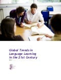 Global trends in language learning in the 21st century
