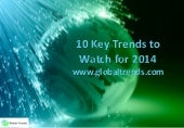 10 key trends to watch for 2014 fro...