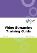 Glow: Video streaming training guide - Firefox