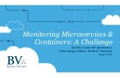 Gluecon Monitoring Microservices and Containers: A Challenge