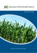 Glyphosate china monthly report 0909