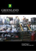Greenland Minerals and Energy Limited (GMEL) Annual Report 2011