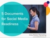 Always Be Prepared: 5 Documents for Social Media Readiness