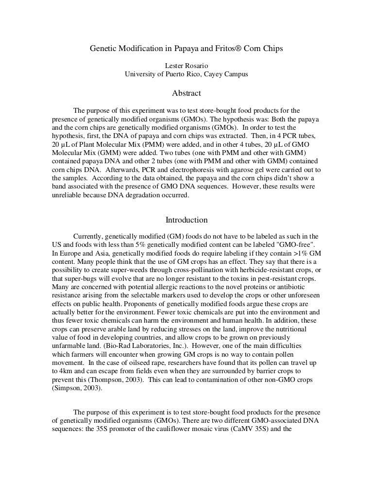 Gmo persuasive essay