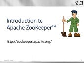Introduction to Apache ZooKeeper