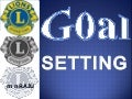 Goal Setting for Lions Club Officers