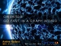 Go fast in a graph world