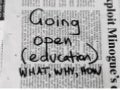 Going open (education): What, why, and how?