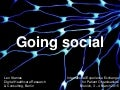 Going social: why patient organizations cannot ignore social media
