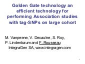 Golden Gate technology an efficient...