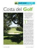 Golf In The Costa Del Sol Feature The Travel & Leisure Magazine November 09