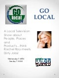 Go local presentation1