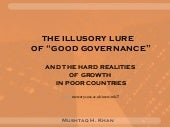 "The Illusory Lure of ""Good Governan..."