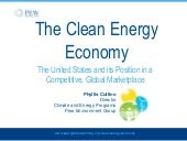The Clean Energy Economy