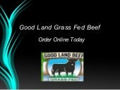 Eat Healthy Grass Fed Beef
