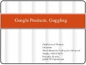 Google, Products and Information Se...