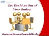 Marketing Through Google AdWords: M...
