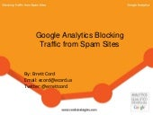 Google Analytics Blocking Traffic from Spam Sites