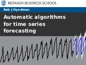 Automatic algorithms for time series forecasting