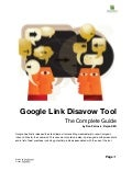 Google Link Disavow Tool The Complete Guide