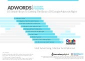 Google Adwords Planning Template