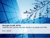 Google Ajax APIs
