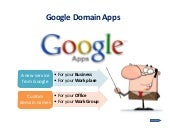 Google Domain Apps-Google apps Domain