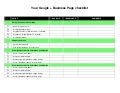 Google + Business Pages Checklist