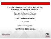 Google control system part 2 internet