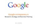 Google entrepreneurs by Jo Owen