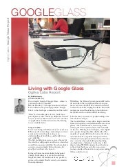 Google Glass Report