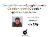 Google local en seo4seos