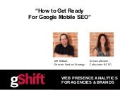How to Get Ready for Google's Mobile SEO Algorithm Update